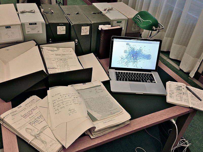 Le bureau de l'archiviste