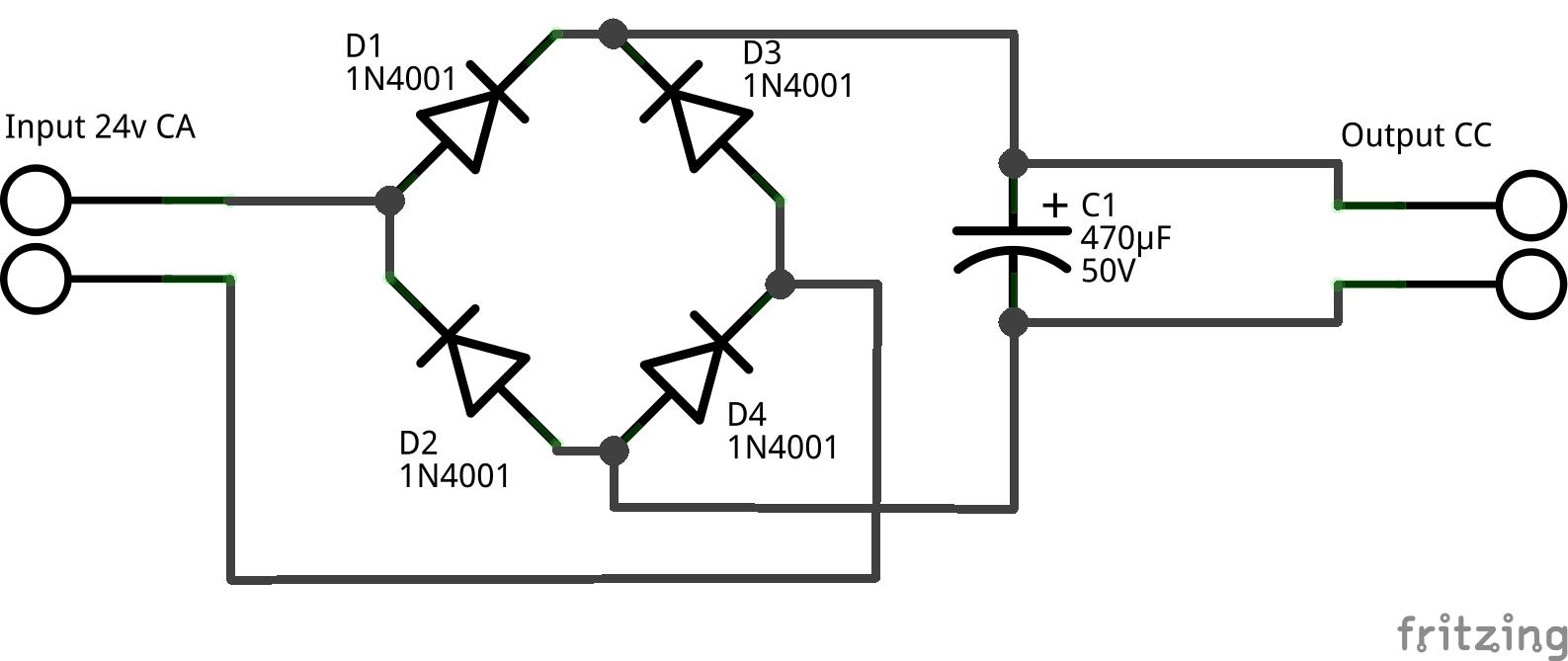 Pont diode 24v