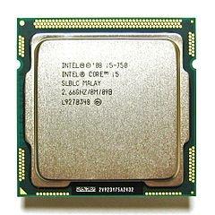 Un processeur Intel Core i5.