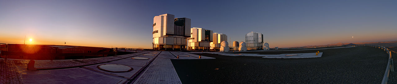 Le VLT (Very Large Telescope) de l'ESO
