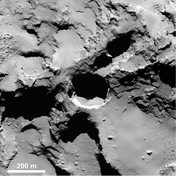 Un trou apparu dans la région Seth.