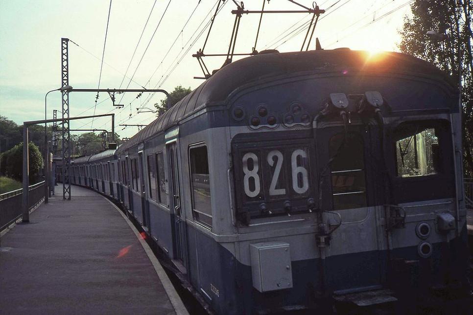 Abrégées « Z », ces rames, celles de la ligne des Sceaux, étaient véritablement increvables - Téléverse sur Wikipédia par Smiley.toerist sous licence CC BY-SA 3.0