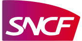 Logo de la SNCF.