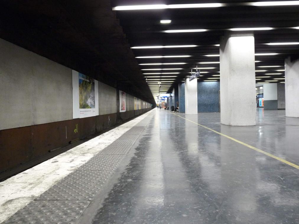 Gare de Lyon RER A, par votre serviteur.