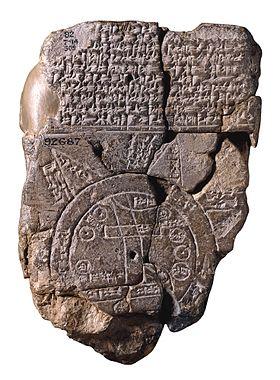 Carte babylonienne du monde – Wikipédia