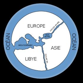 Carte d'Anaximandre