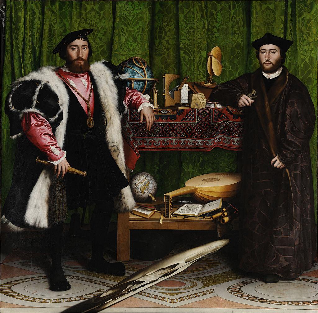 Les Ambassadeurs, Hans Holbein le Jeune