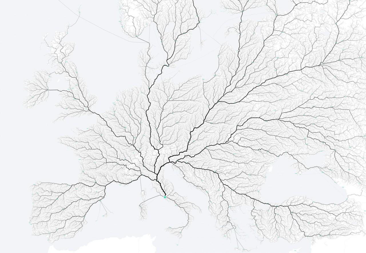 Routes menant à Rome – moovellab.com