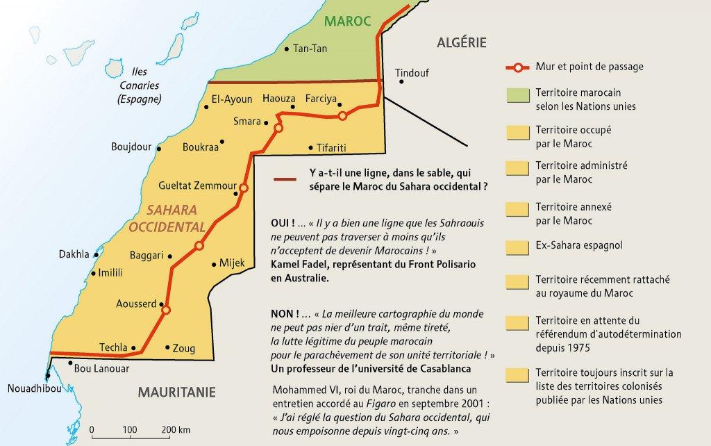 Sahara occidental : un territoire, une multitude d'appellations, Philippe Rekacewicz