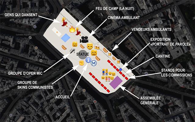 Nuit Debout Place de la République — Slate.fr
