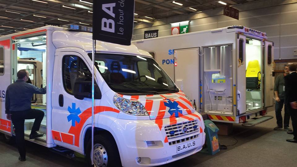 Ambulance à la Secours Expo