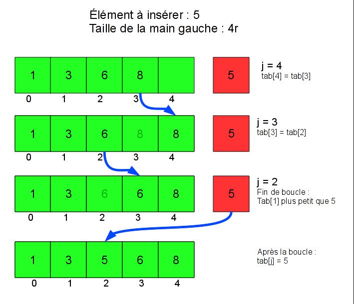 Le Tri Par Insertion Tutoriels Zeste De Savoir