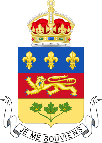 Quebec Coats of Arms