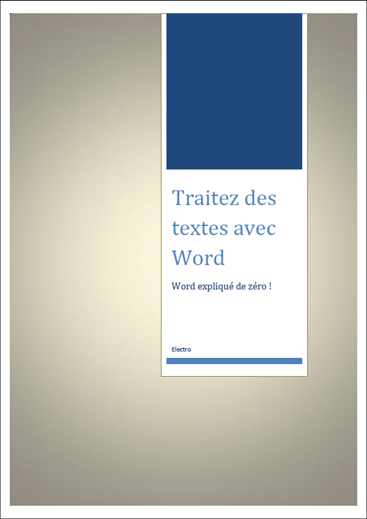 La Mise En Page Traitez Des Textes Avec Word Tutoriels