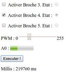 Interface HTML