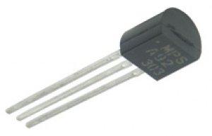 Photo d'un transistor